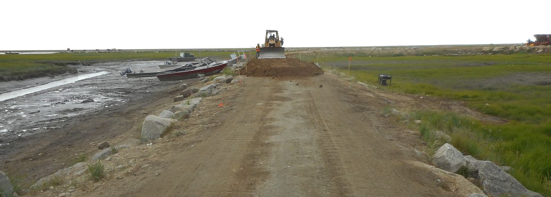 Road Construction | Scammon Bay, Alaska